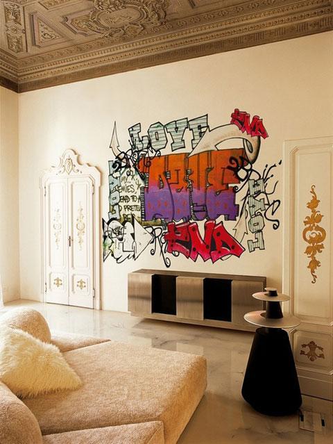 Мысли на виду! (или 60 идей декора стен с помощью слов, букв и цифр), фото № 14