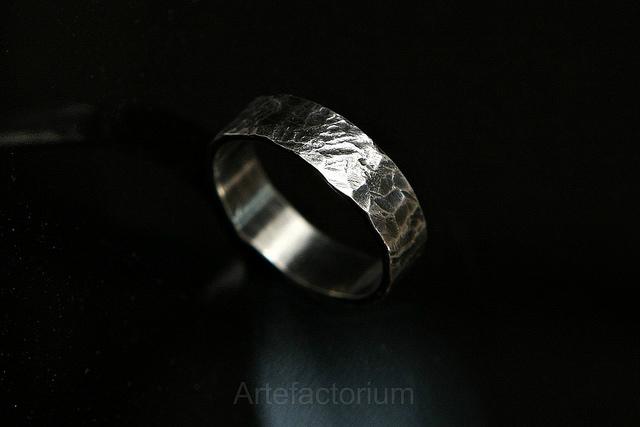 кольцо с чернением, пайка, москва