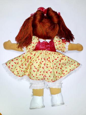 текстильная кукла, подарок ребенку