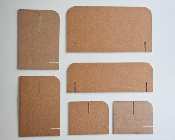 Мебель из картон своими руками 44