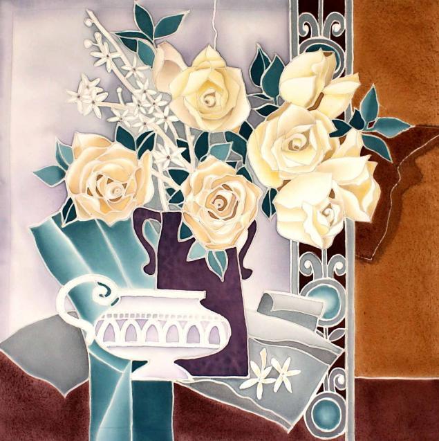 панно, цветы, подарок