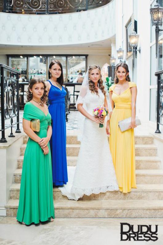 подружки невесты, платья-трансформеры, dudu-dress