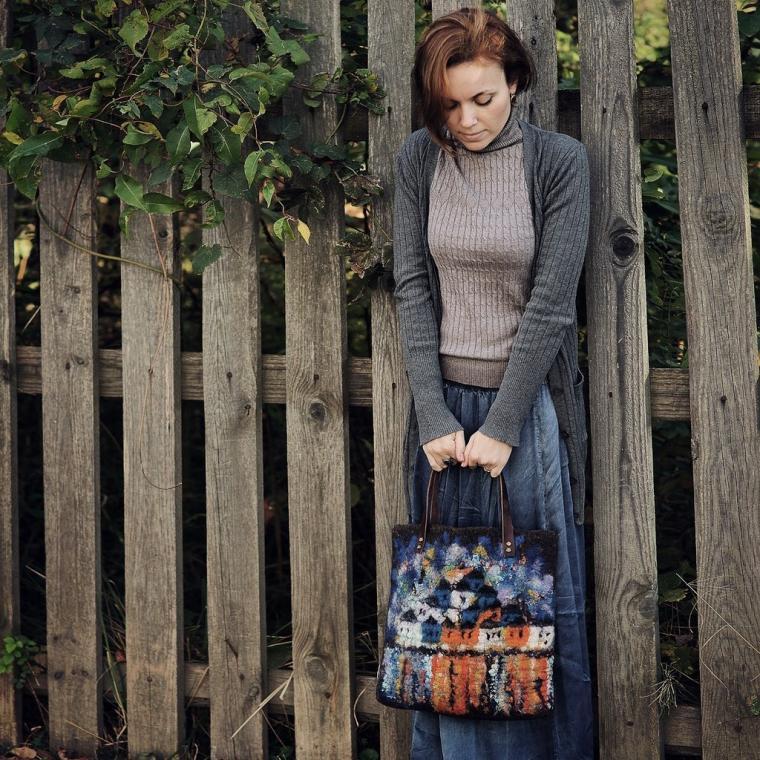 валяние краснодар, краснодар фелтинг, мк валяние сумки, арт-студия веранда