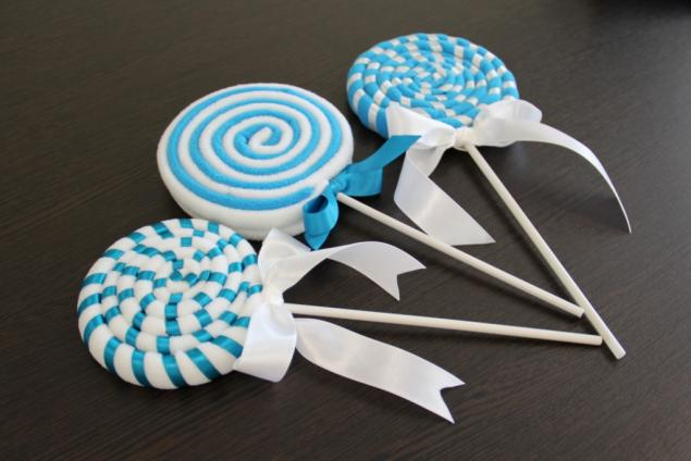 Как сделать конфеты из ткани