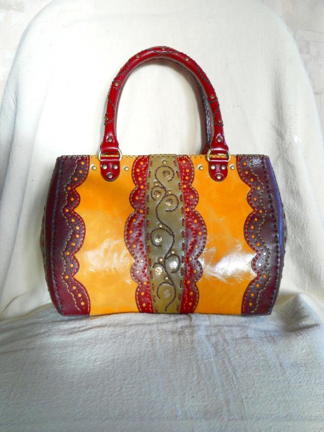 Пошив сумки На заказ Из кожи Как на фото - Советчица