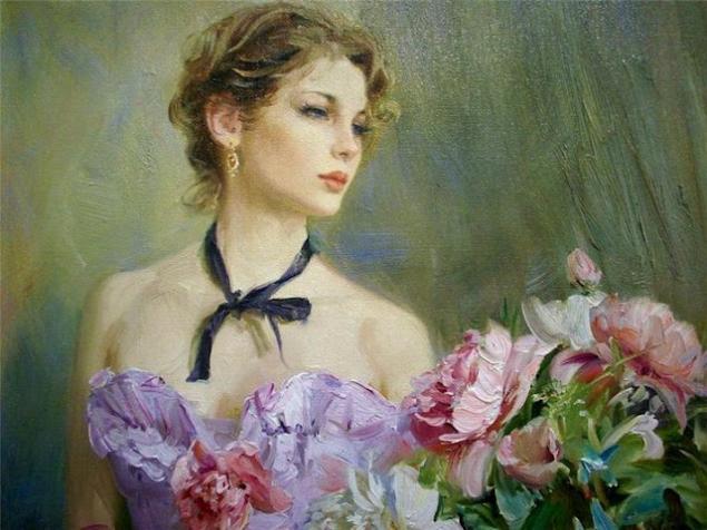 галерея, цветы, новая работа