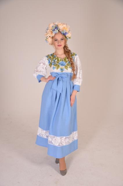 украинский веночек, цветы ручной работы, веночек на голову, подарок для девушки, украинский венок