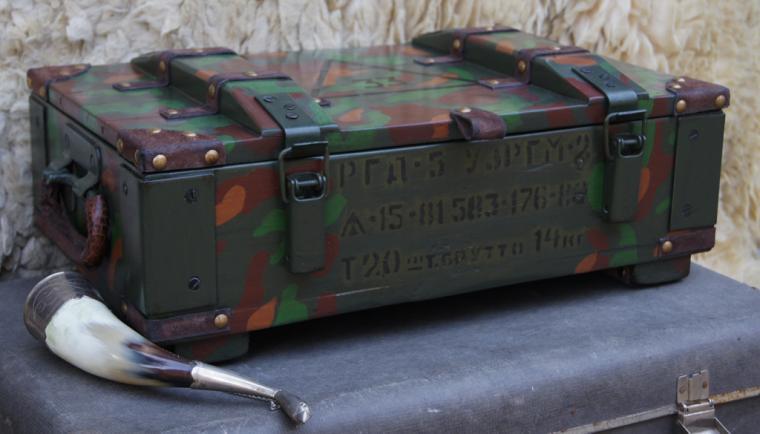 ящик-короб, ящик охотничий, подарок для мужчины