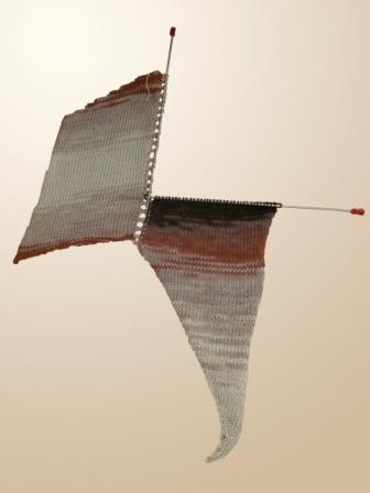 Вяжем свитер «летучая мышь» из меланжевой пряжи, фото № 2