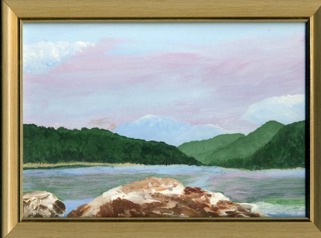 конкурс, картина для интерьера, весенний пейзаж