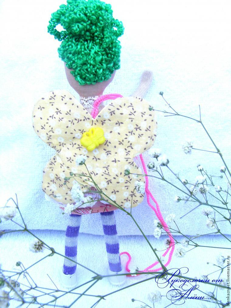 Мастерим куклу-подвеску «Бабочка» по мотивам Лалалупси, фото № 32