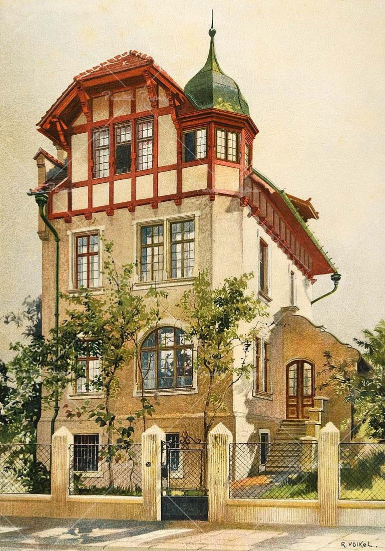 Artwork by Reinhold Volkel