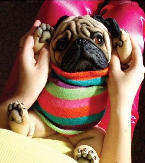 Как сшить мопса своими руками