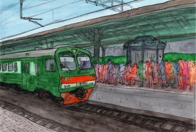 Путешествуем с Михаилом Щербаковым (Vokabre): быстрые зарисовки акварелью, фото № 31