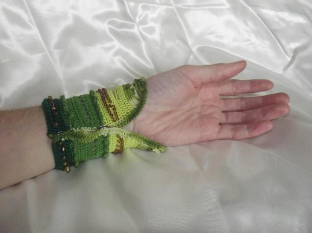 браслет, браслет на руку, ромашка, бусины