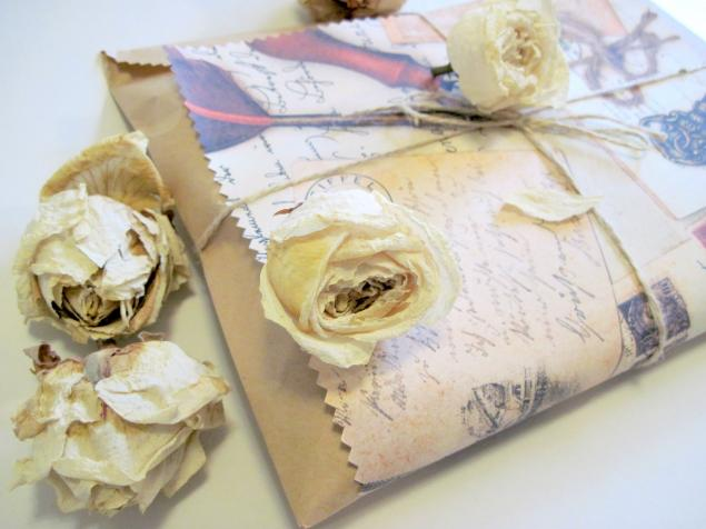 упаковка подарка, конверт