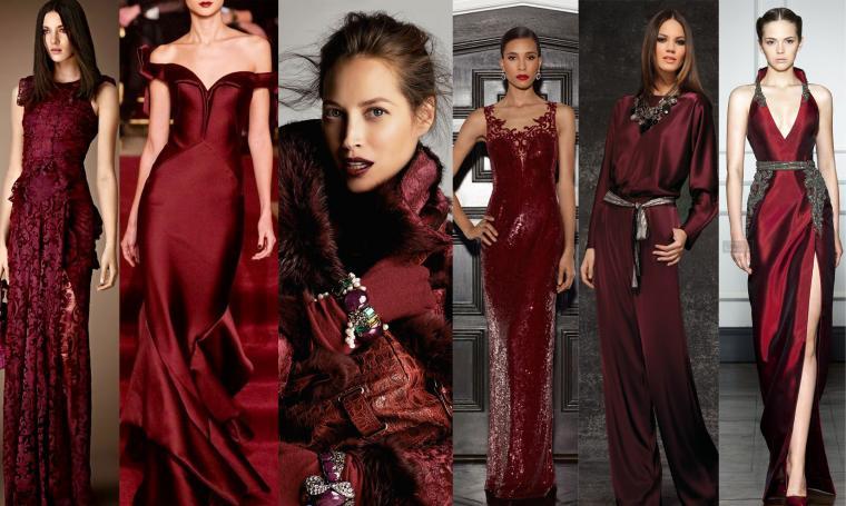 Как называется модный бордовый цвет
