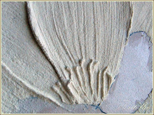 Декор из структурной пасты - Структурная паста своими руками. - Ярмарка Мастеров - ручная