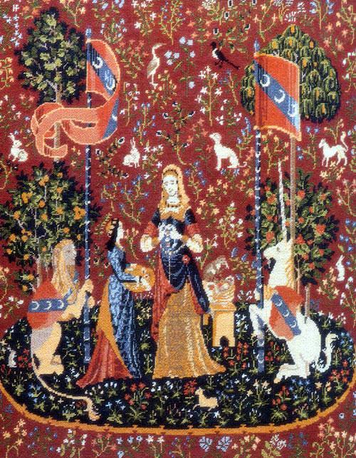 Вышивка на канве в средневековой Англии