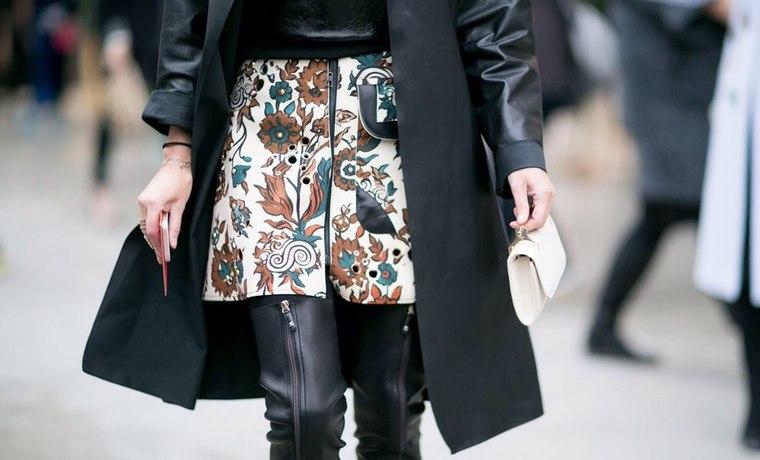 fashionweek, leather, тренд