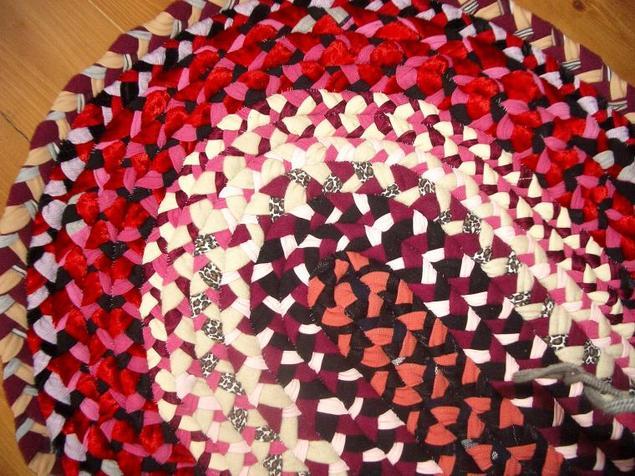 Как сделать коврик из колготок своими руками