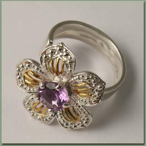 аукцион сегодня, серьги с камнями, серебряные украшения, серьги с аметистом