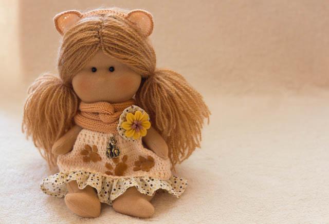 оберег, текстильная кукла