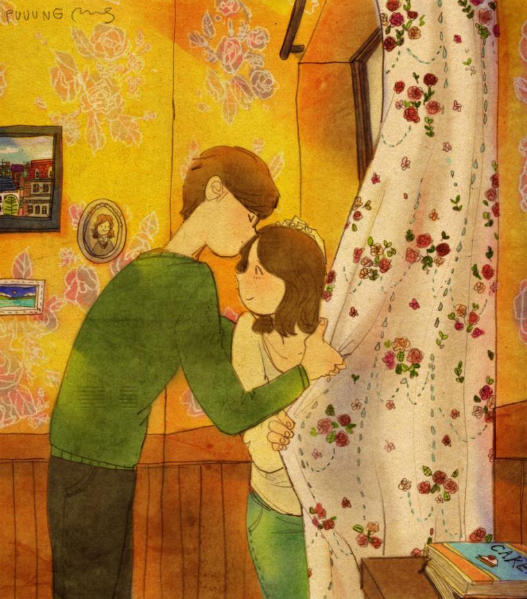 Поздравление, картинки художницы про отношения
