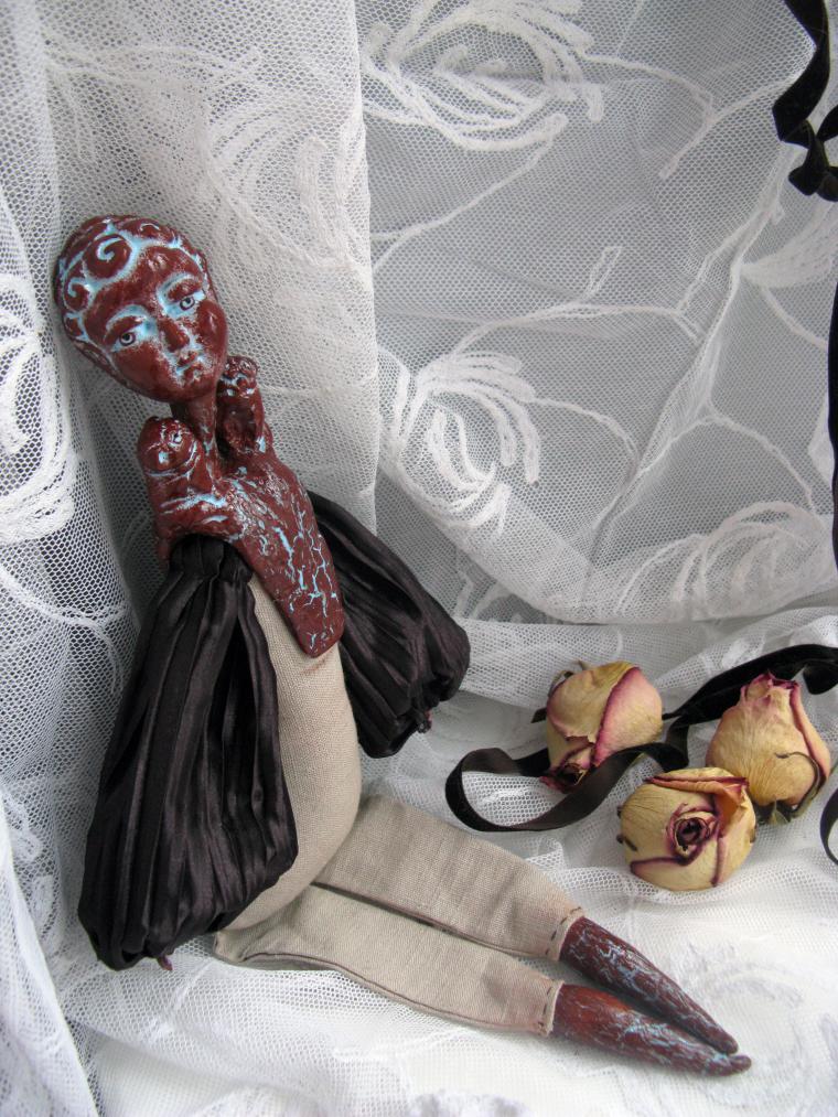 кукла под старину