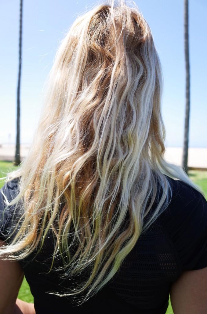спрей для волос с морской солью