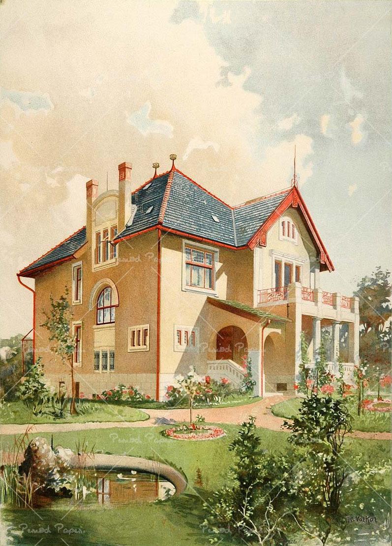 европейский дом