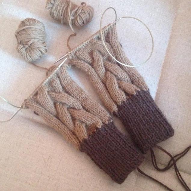 Вязать носки для новичков