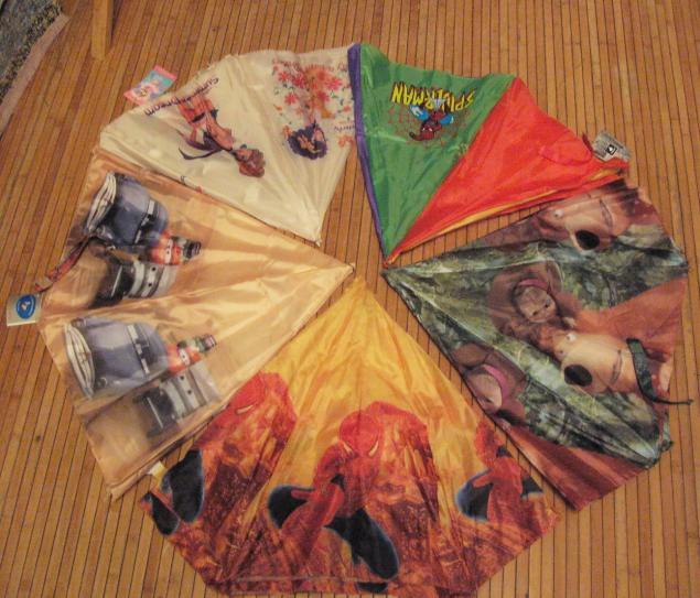 ткань от зонтов, москва, отдам даром