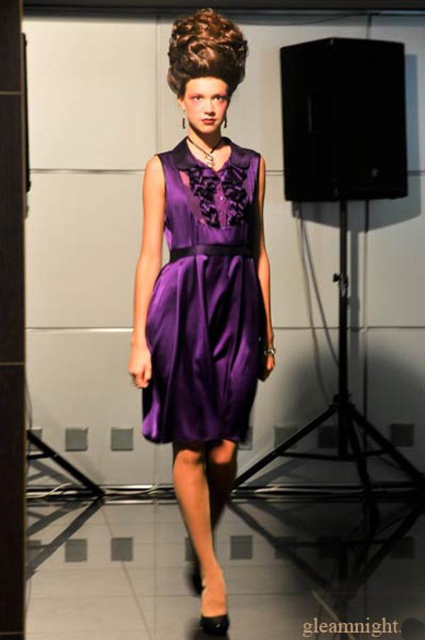 черничное платье, акция сегодня, коктейльное платье