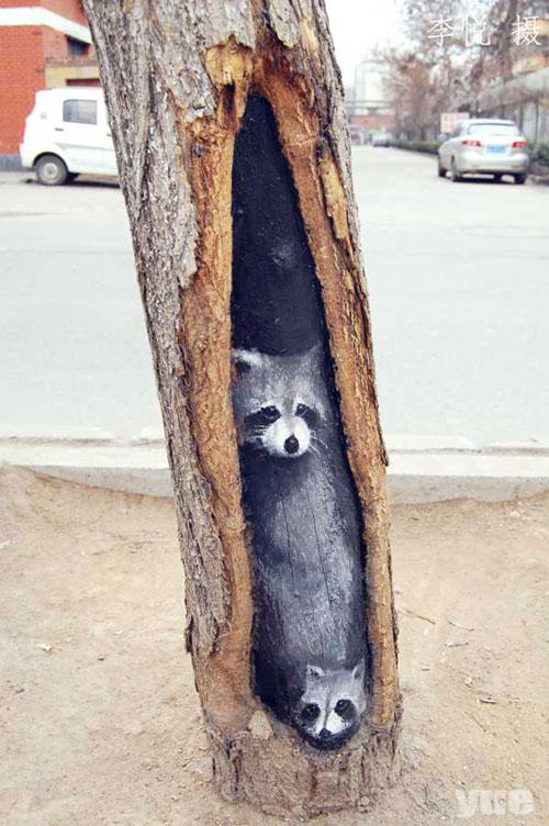 Tree-art, или Роспись деревьев, фото № 4