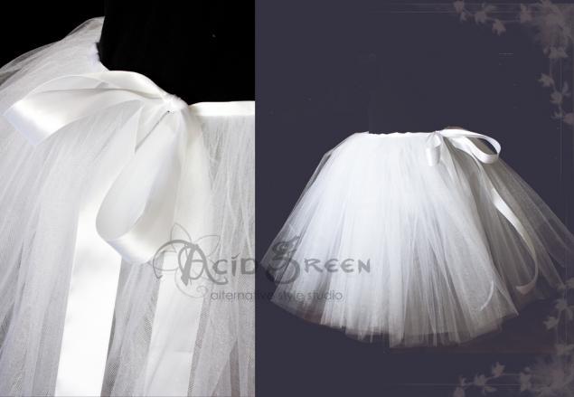 юбка из фатина, свадебная юбка, юбка, юбка в пол