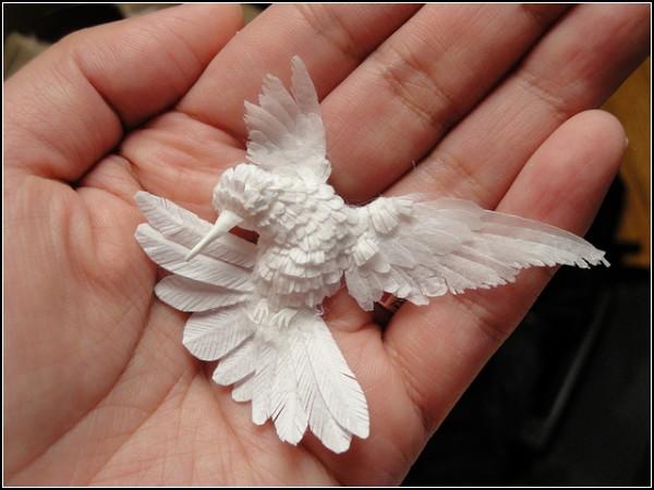 Как сделать маленькую птичку своими руками