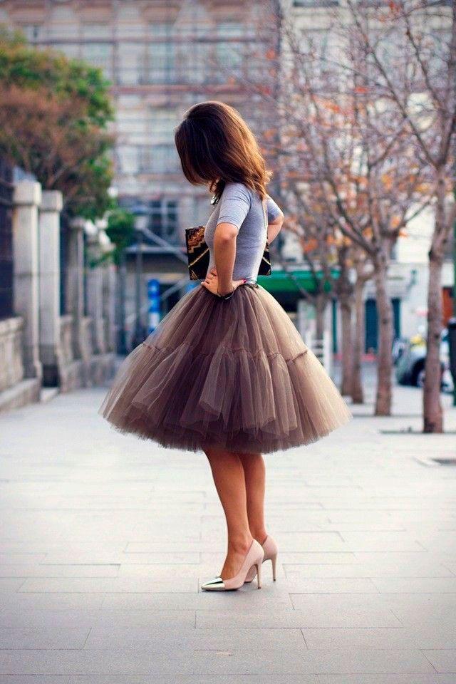 Отличие юбки американки