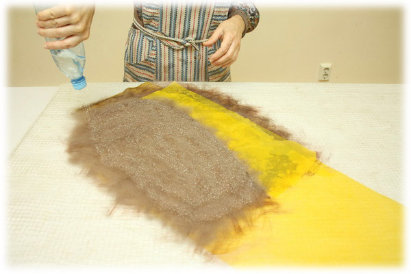 From Simple to Complex: Felting a Jacket with a Yoke, фото № 12