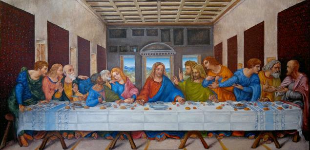 леонардо да винчи живопись: