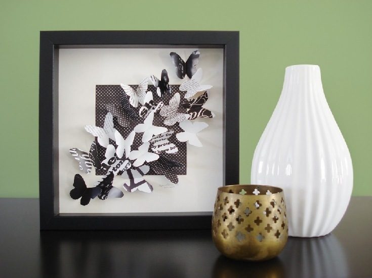 Бабочки как элемент дизайна интерьера, фото № 42