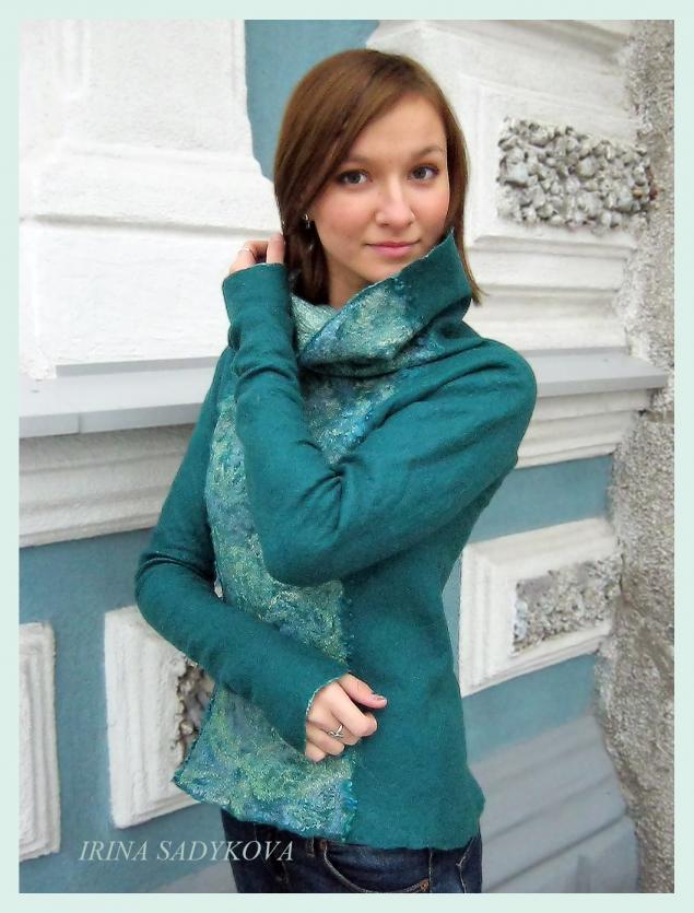 свитер, шерсть меринос