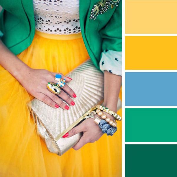 调色板:颜色的搭配是服装时尚的基础来源 - maomao - 我随心动