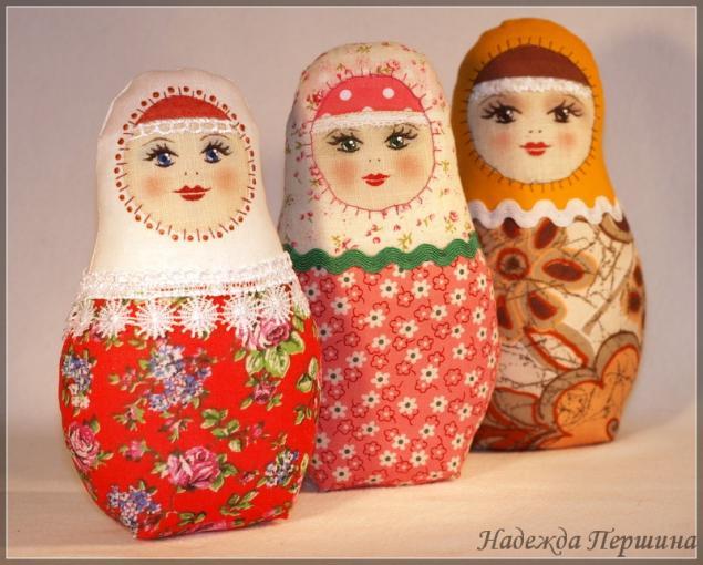 Русские сувениры своими руками