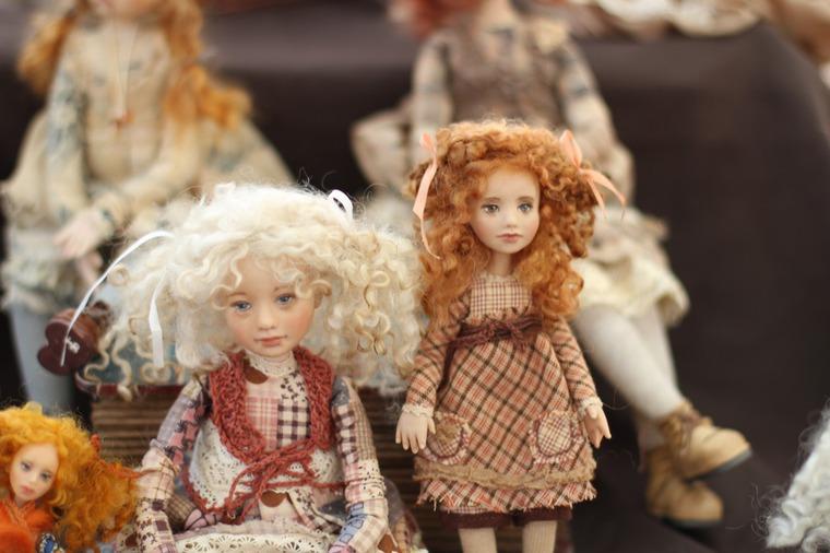 Международной выставка авторских кукол и мишек «Панна DOLL'я» в Минске. Часть 1., фото № 36