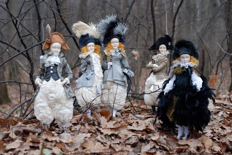 выставка-продажа, кукла своими руками, кукольная миниатюра
