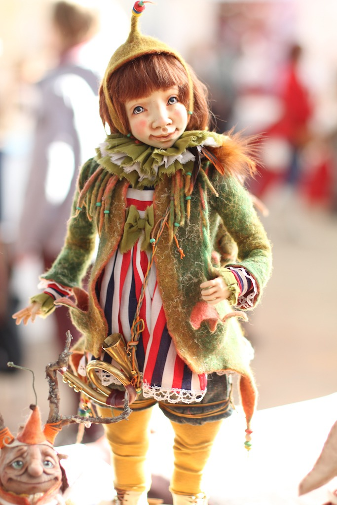 Международной выставка авторских кукол и мишек «Панна DOLL'я» в Минске. Часть 1., фото № 13