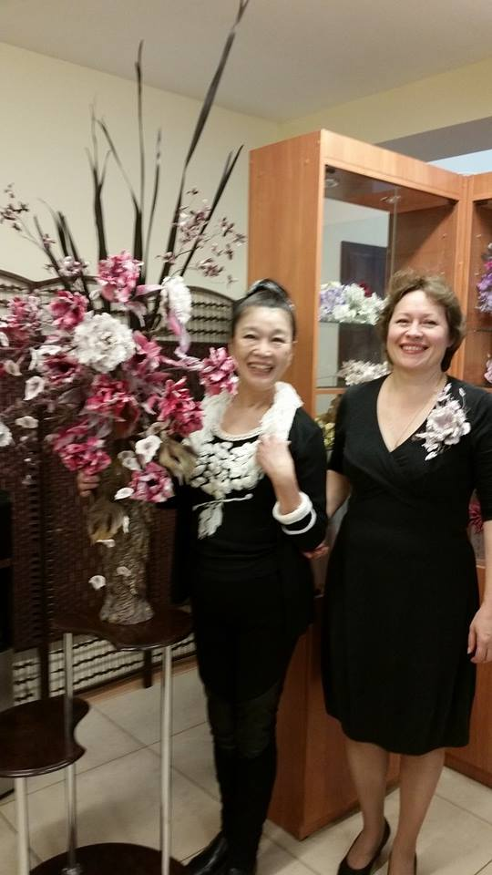 формула рукоделия, цветы из шелка
