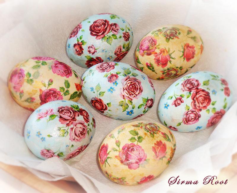 Красивое пасхальное яйцо своими руками