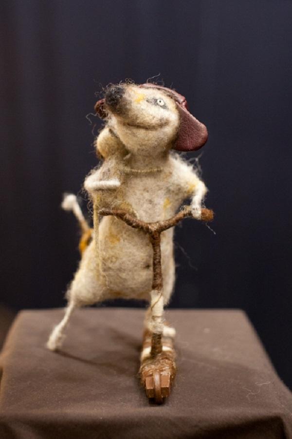 шерсть, подарок на 8 марта, сухое валяние игрушки, куклы и игрушки, мастер-класс, анималистика